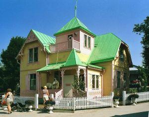 La Villa VillaColle, casa di Pippi
