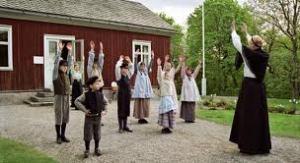 Figuranti in costume a Skansen