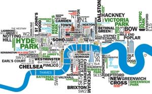 Mappa Artistica di Londra