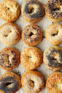 Bagels con semini vari